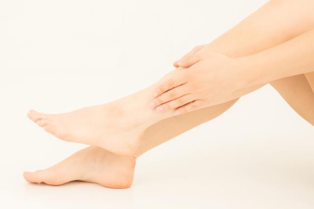 足の乾燥の原因 すねの乾燥