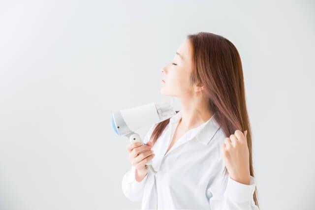 髪を乾かす時のポイント