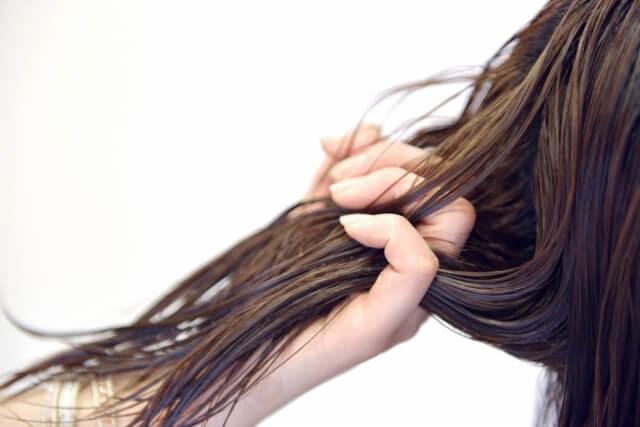 髪の毛が湿気で広がらないようにする方法